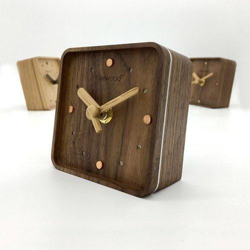原木时钟 , 实木桌钟