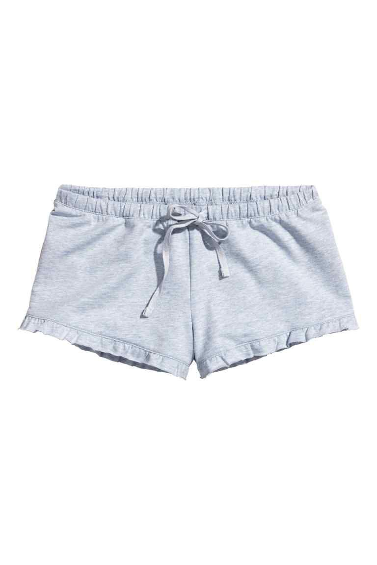 Pantalon Corto De Pijama Pajama Shorts Frilly Shorts Pajamas