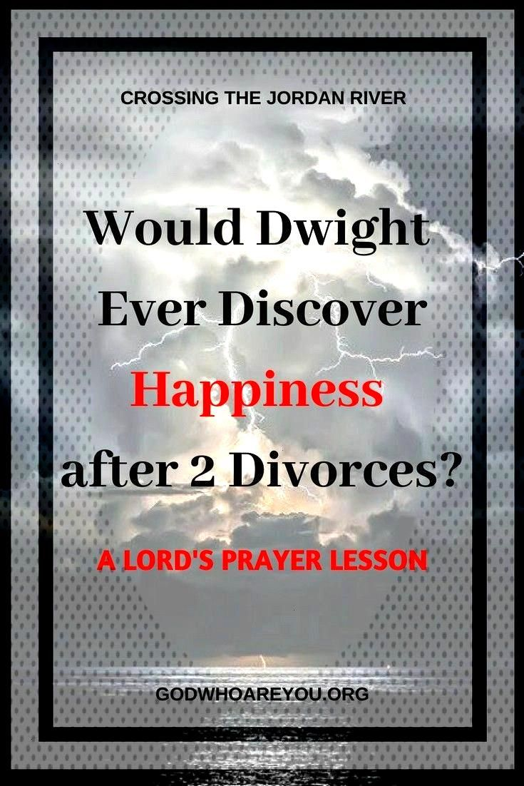 the Lord's Prayer Transformed Dwight: From Darkness to Salt Would Dwight ever discover happiness af