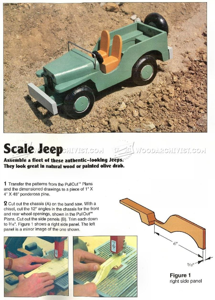 wooden toy jeep plans - wooden toy plans | things i love