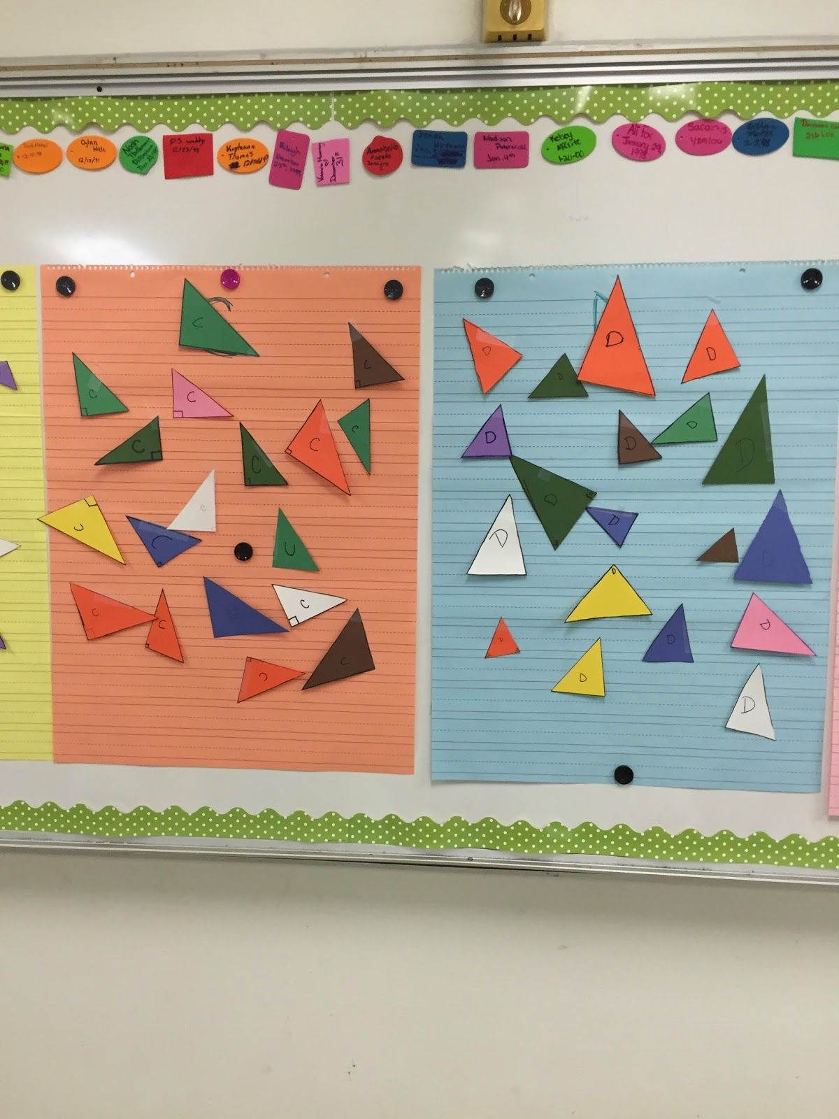 Kelsoe Math Triangles Writing Congruence Statements