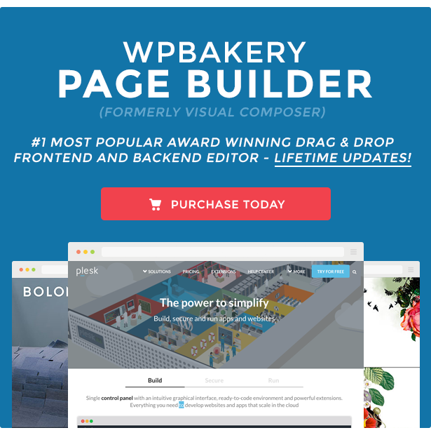 WPBakery Page Builder for WordPress (formerly Visual Composer)