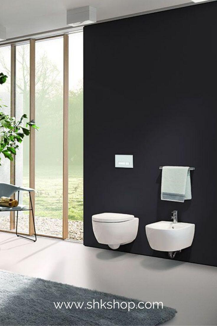 Geberit Icon Set Wand Wc Sp Lrandlos Inkl Wc Sitz Wei In 2020 Badezimmer Inspiration Neues Badezimmer Wc Sitz
