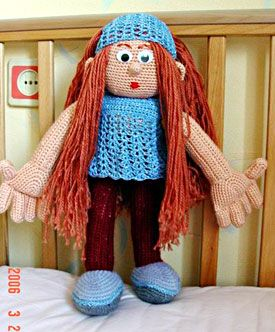 Вязаные крючком куклы - Игрушки - Страна рукоделия