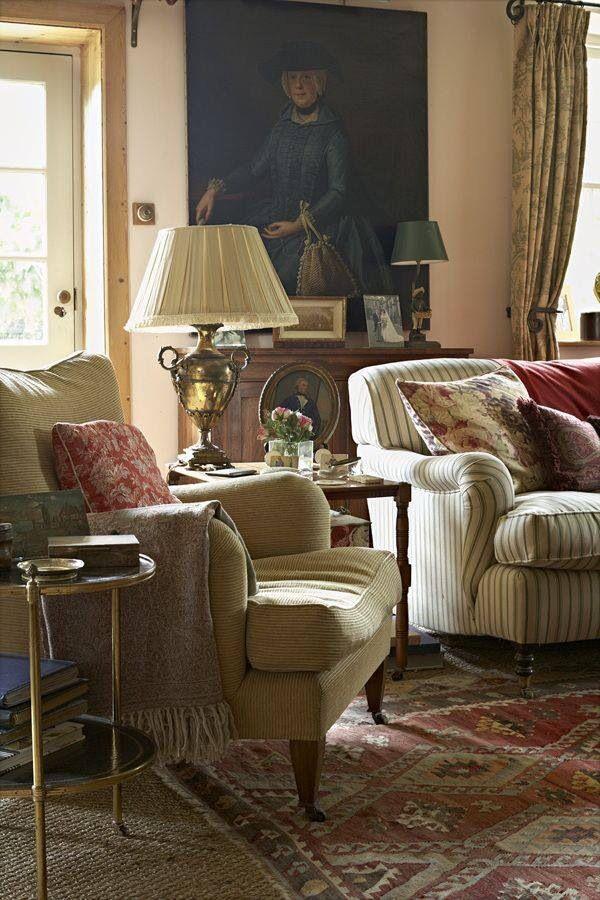 saln engels cottage stijl engels huis frans platteland engels interieur engels decor