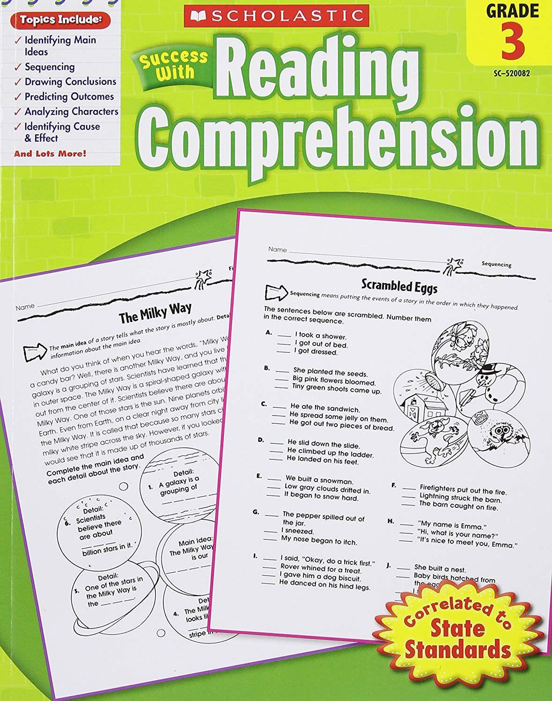 Scholastic Success With Reading Comprehension Grade 3