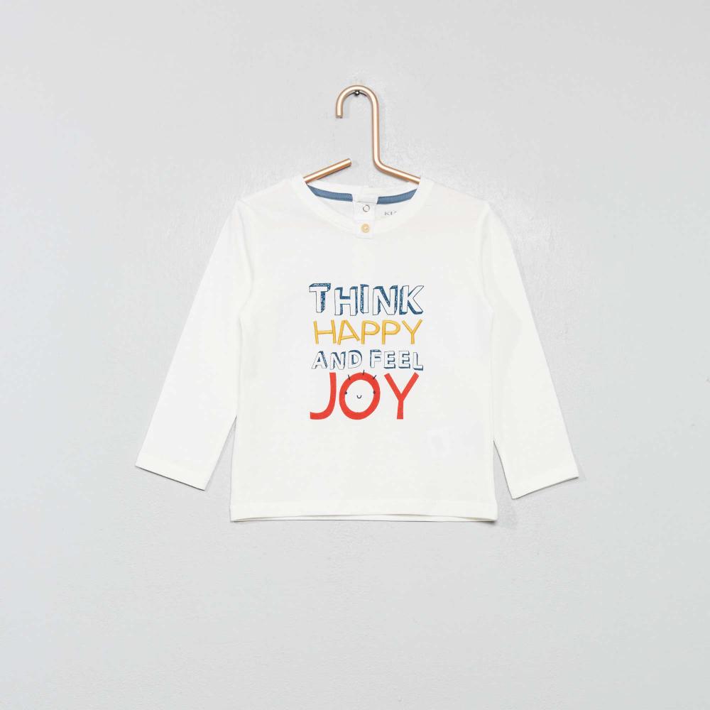 Shirt Manches Longues B/éb/é gar/çon ZIPPY T