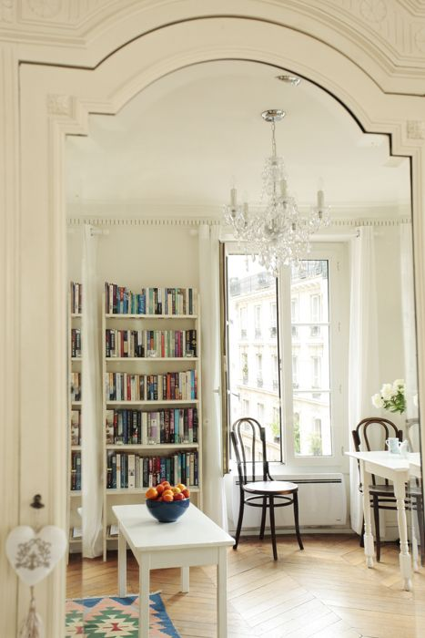 small but beautiful & vintage paris apartment - french living and ...