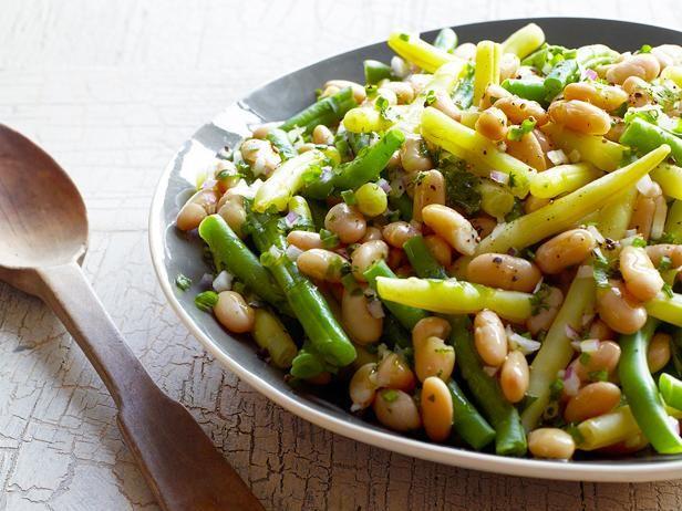 Garden Bean Salad Recipe Food Network Recipes Summer Side Dishes Recipes Bean Salad Recipes
