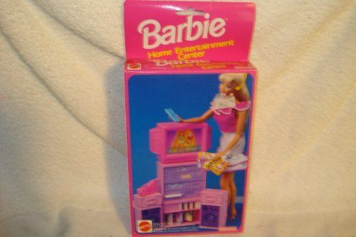 Barbie Home Enterainment Center Playset by Mattel. $29.99. this is a small enterainment center but still looks like it could be fun