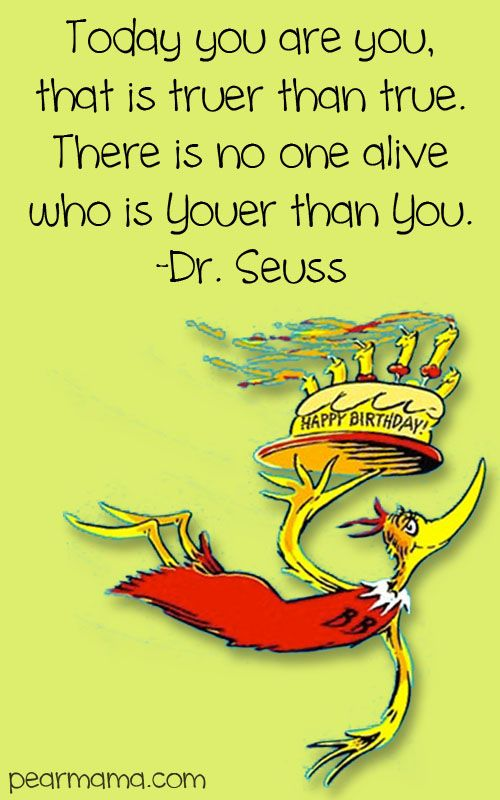 Dr. Seuss Birthday Quote | Cards | Birthday Quotes | Birthday