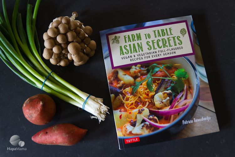 Farm to table asian secrets cookbook and giveaway