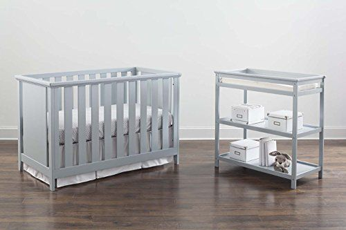 Imagio Baby Casey 3-in-1 Cottage Crib and Changer Set, Grey  http://www.babystoreshop.com/imagio-baby-casey-3-in-1-cottage-crib-and-changer-set-grey/