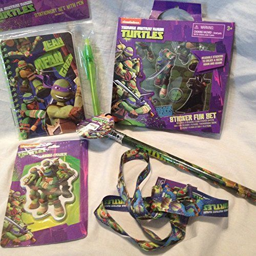 Teenage Mutant Ninja Turtle Playtime Holiday Gift Pack Tmnt