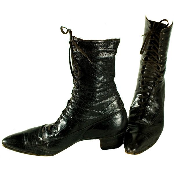 1880s Victorian Boots Womens Size 7.5 7