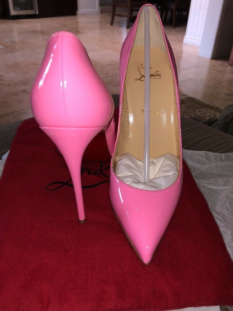 061a02b40fe Christian Louboutin Pigalle Follies 100 Patent Pink