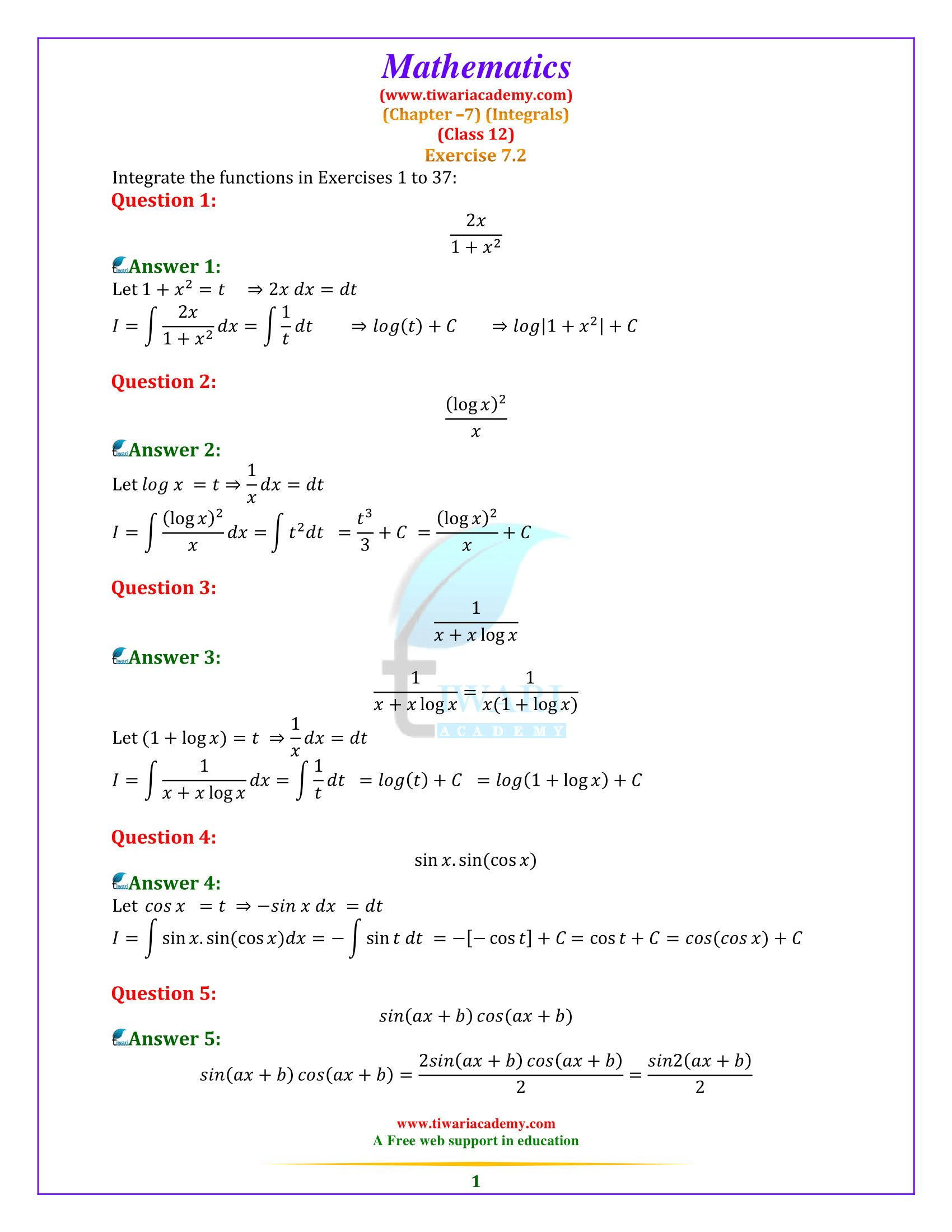 5 Worksheet Math Computation Worksheets 2nd Ncert