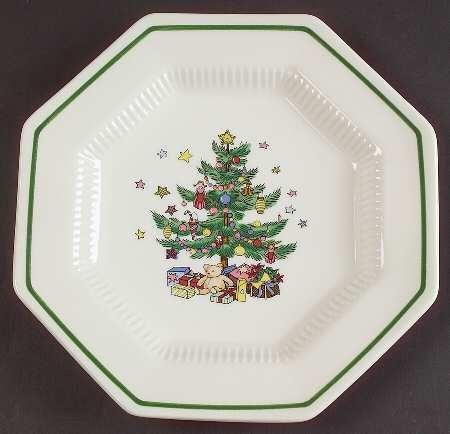 NIKKO Christmastime Bread /& Butter Plate