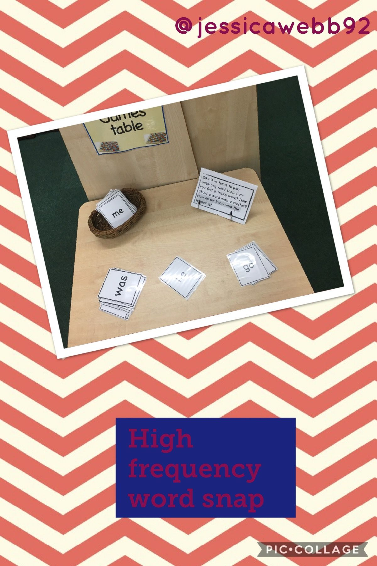 High Frequency Word Snap