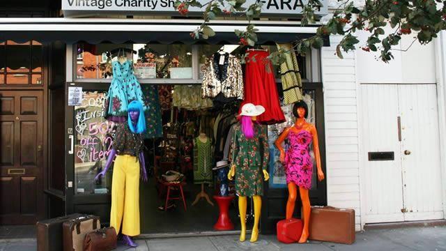 Retromania Charity Shop Fashion Charity Shops London Charity Shop