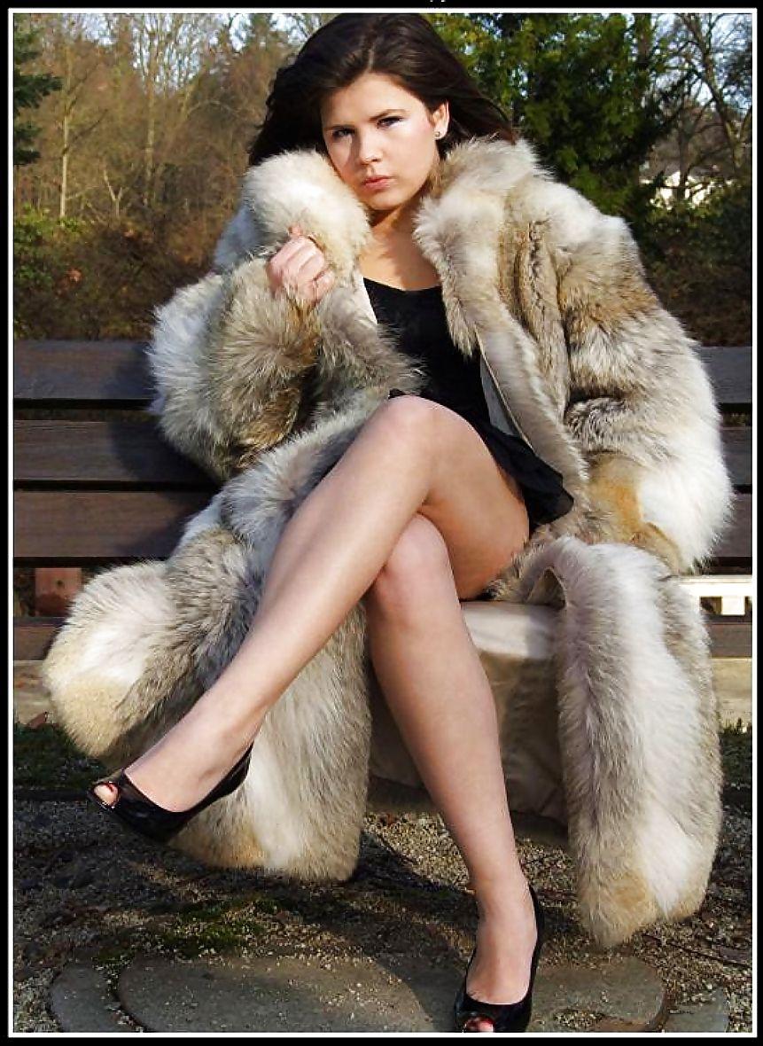 women Fur dildoes coats