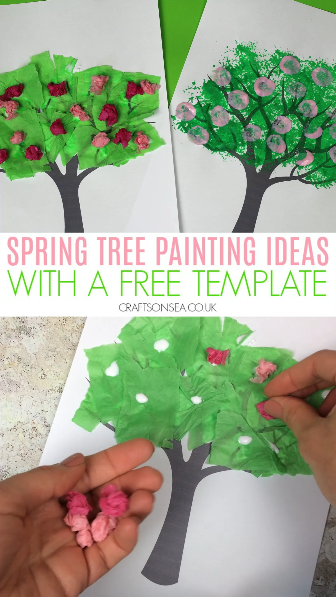 Spring Tree Craft for Kids
