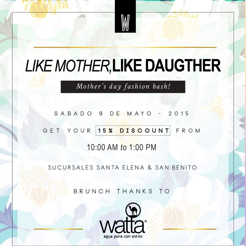 #LetsGoShopping para mamá! Este sábado, descuentos especiales en @walkincloset_sv #shopping #mothersDay #mom #Fashion #LaModaSeEscucha #TrendStudiofm