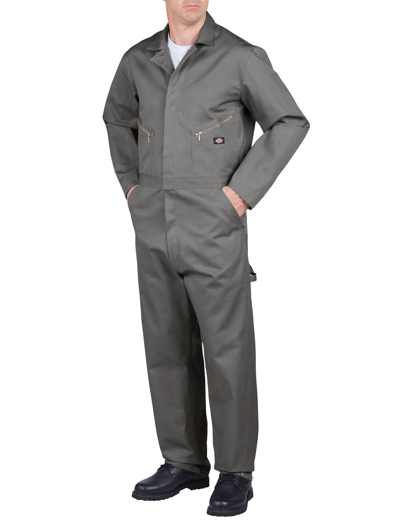 f47f41a1f9bbe Deluxe Cotton Long Sleeve Coveralls, Gray in 2019 | Beekeeping ...
