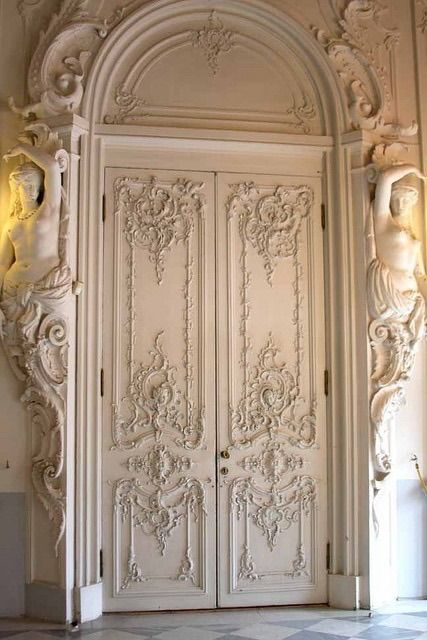 Rococo Interior Of The Catherine Palace At Pushkin Russia