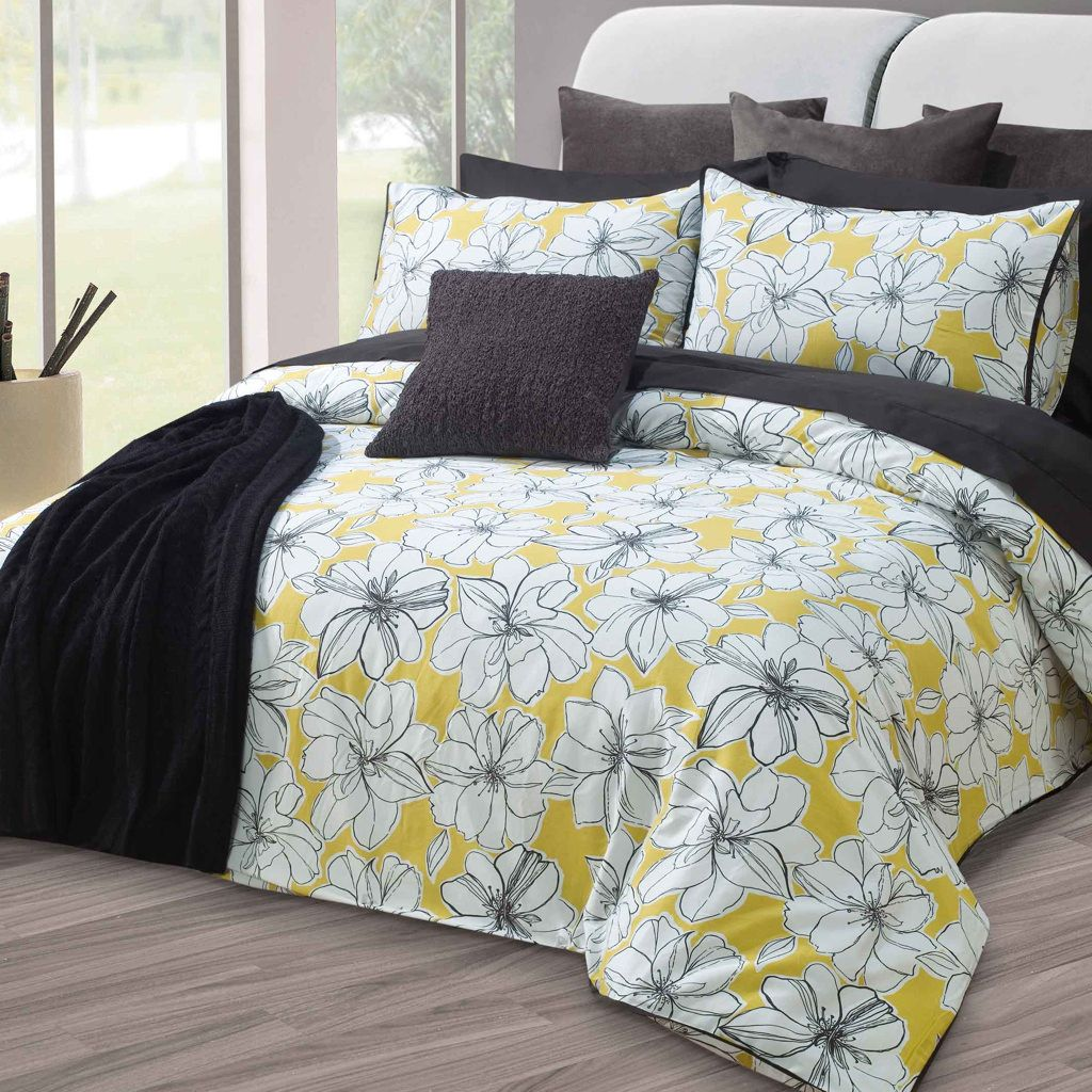 Marguerite Cover Set Duvet Cover Sets Contemporary Bedroom