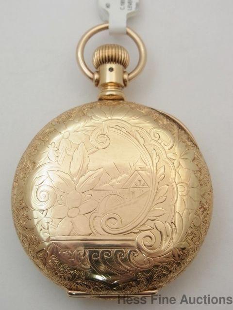 c80f77cc2 Antique Elgin Dueber 14k Special Gold Filled 16s 15J Pocket Watch #Elgin