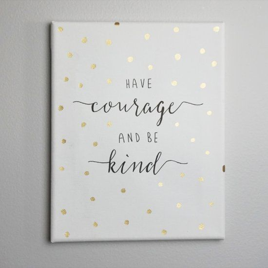 Learn How To Make Your Very Own Quote Canvas With A Few Simple Steps Art Diy Diy Wall Art Canvas Crafts
