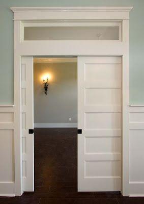 Utah Parade Homes Pocket Doors Home French Doors Interior