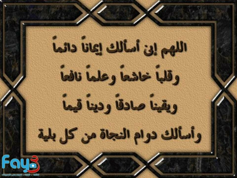 دعاء اللهم اني اسألك إيمانا دائما Islamic Images Duaa Islam Mercy