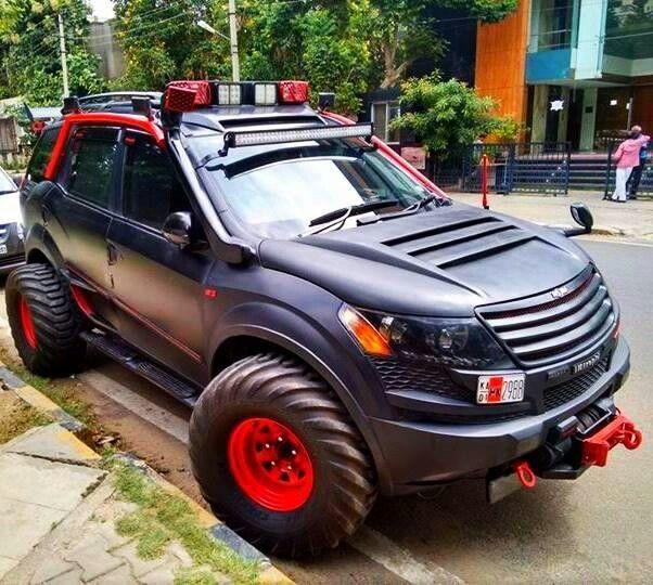 Mahindra Xuv500 India Modified Cars Jeep Suv Custom