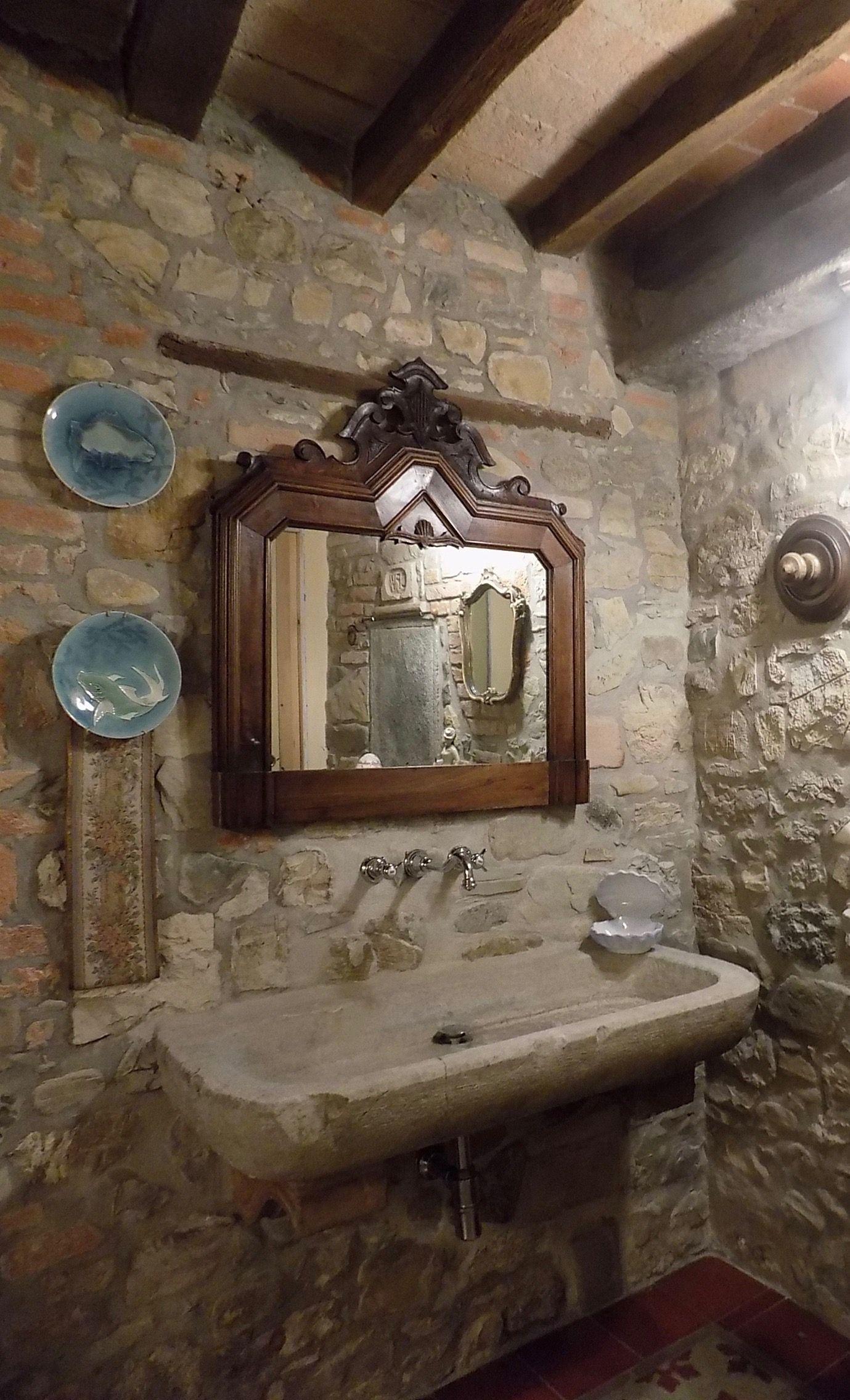 Lavandini Rustici In Pietra lavello in pietra originale vecchio di recupero   bagno in