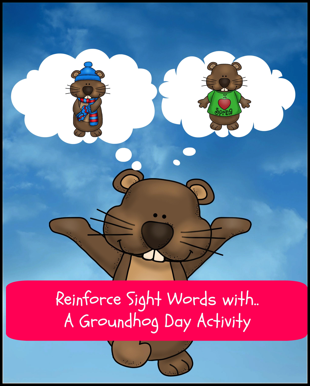 Groundhog Day Activity For Kindergarten Or Preschool