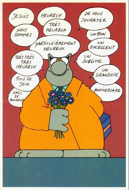 Exceptionnel Le chat - Carte - Tout … | Pinteres… HN34