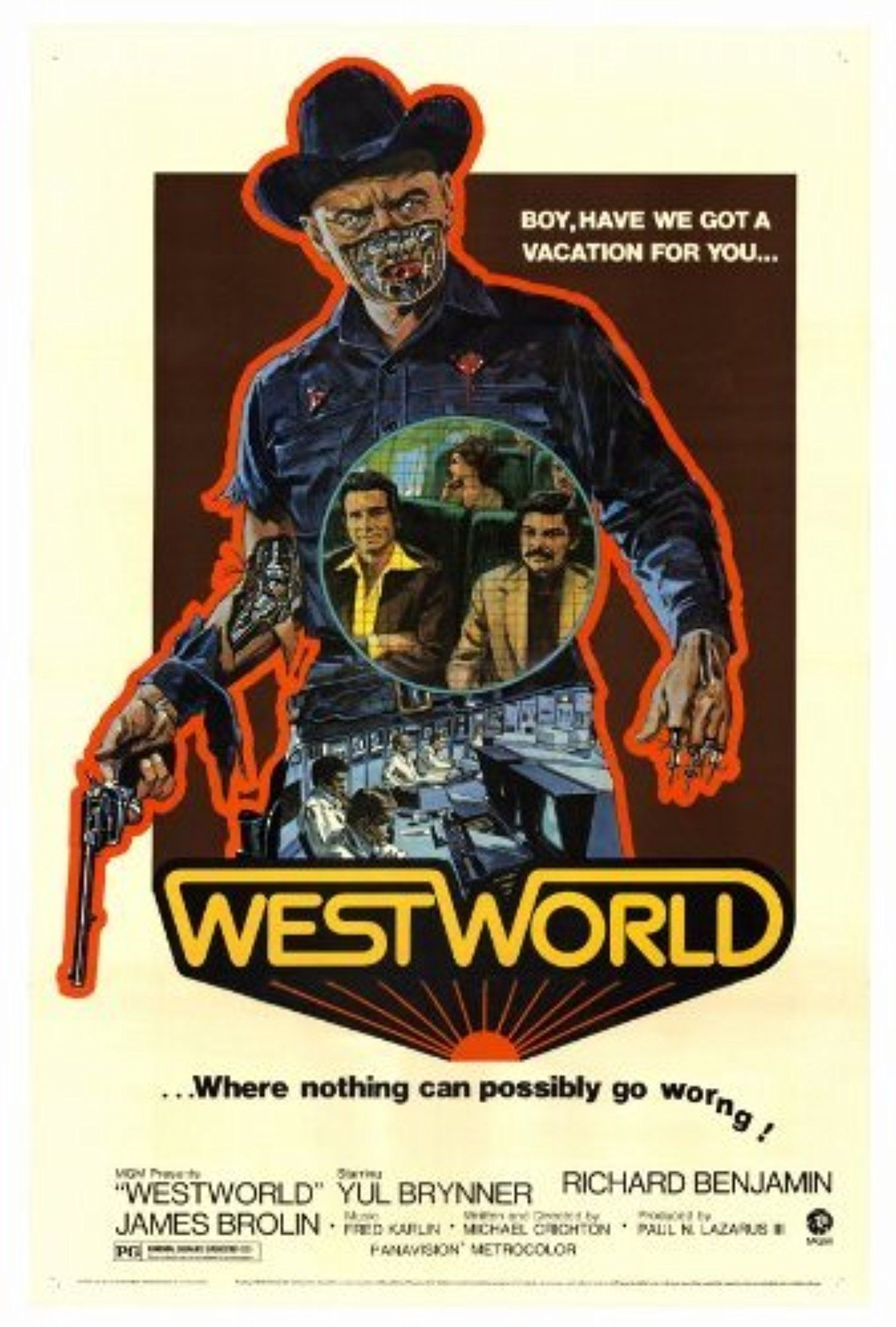 Decal Jewelry 27 x 40 Westworld Movie Poster -- Awesome products ...