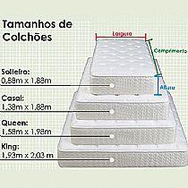 Qual tamanho certo das medidas de um colch o ergonomia for Cama full medidas
