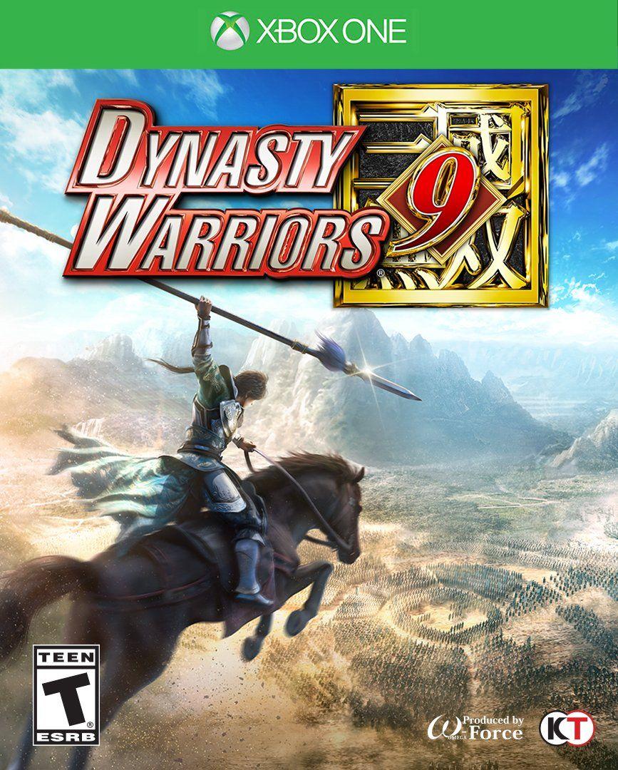 """Résultat de recherche d'images pour """"dynasty warriors 9 cover xbox"""""""