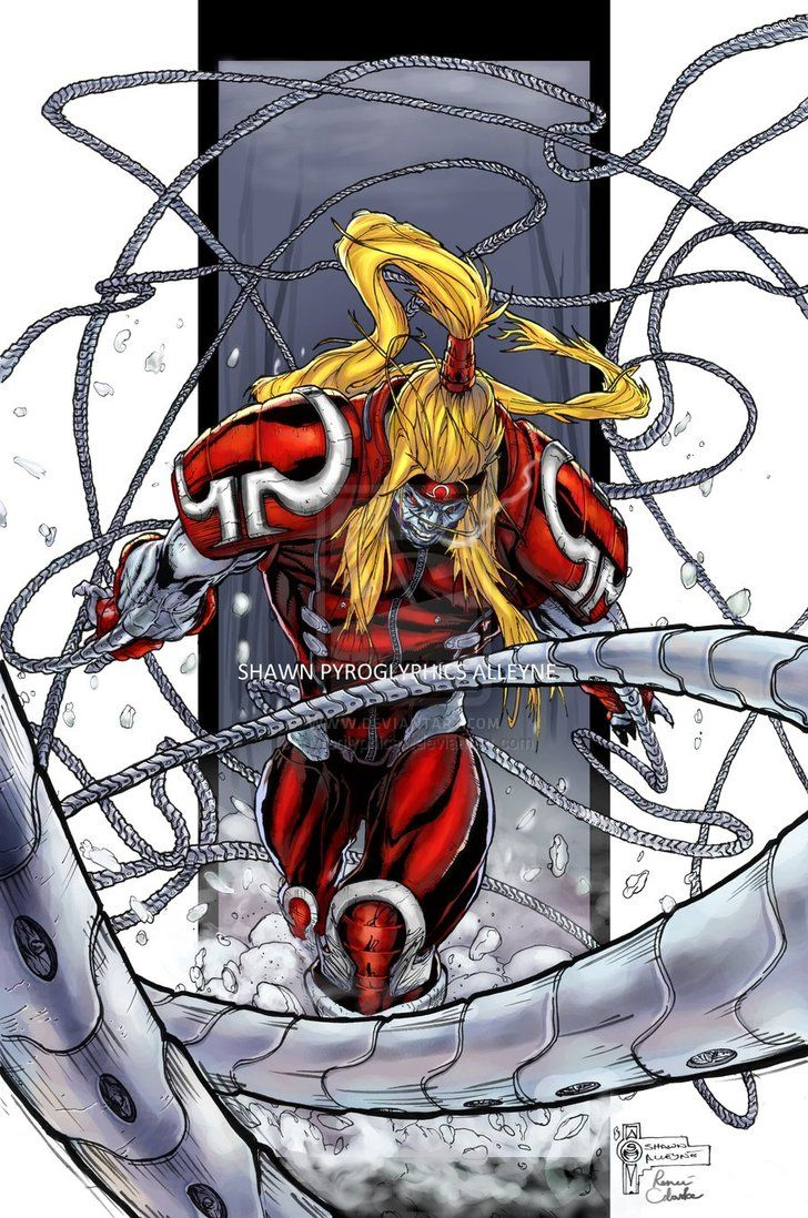 Omega red | Marvel | Marvel villains, Marvel comic universe