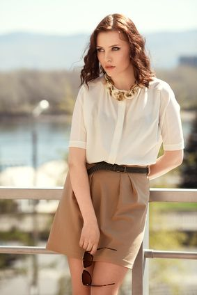 1000  images about smart casual attire on Pinterest - Grey blouse ...