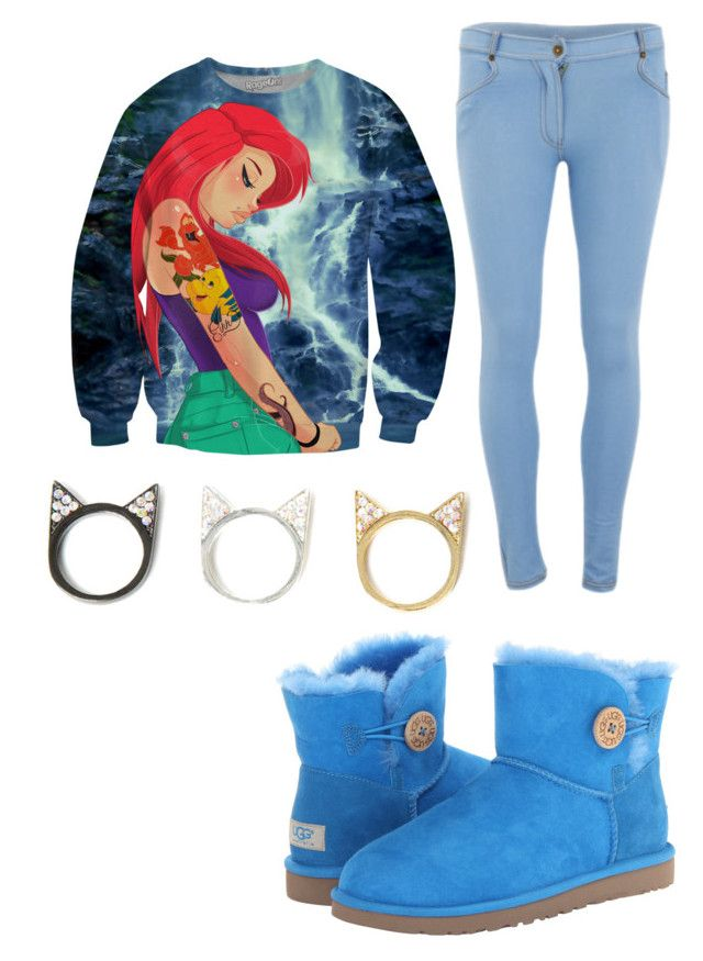 """Untitled #82"" by pinkunicorn007 ❤ liked on Polyvore featuring Influence and UGG Australia"