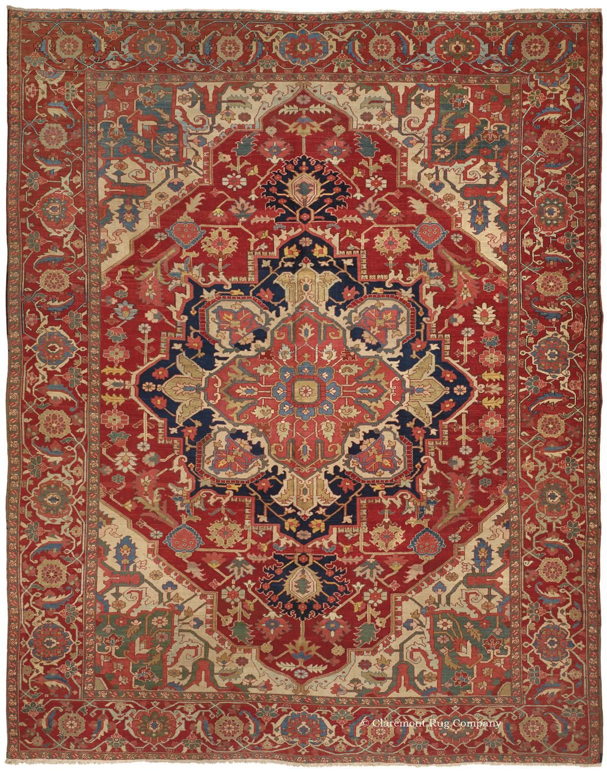 Serapi Northwest Persian 10ft 0in X 12ft 9in Circa 1900 Persian Rug Rugs On Carpet Rugs