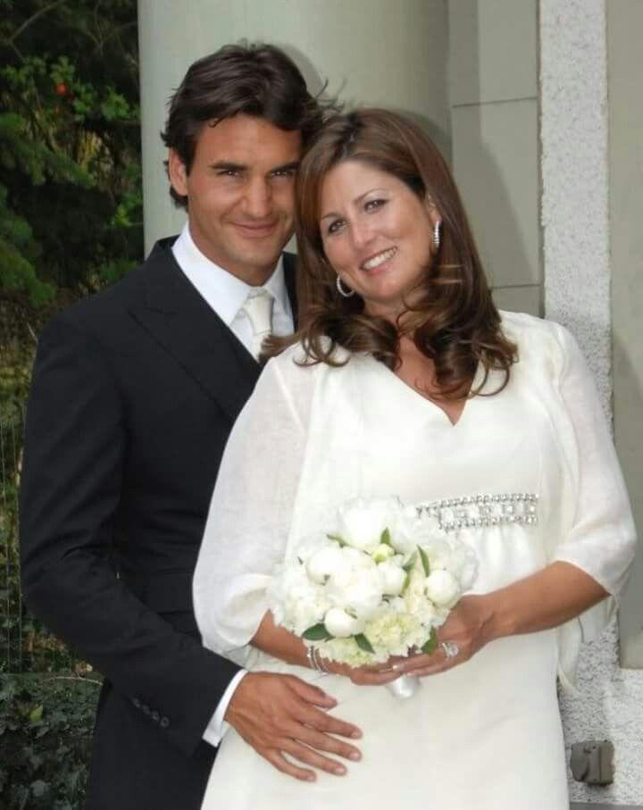 Roger Mirka S Wedding Day Mirka Federer Roger Federer Celebrity Weddings