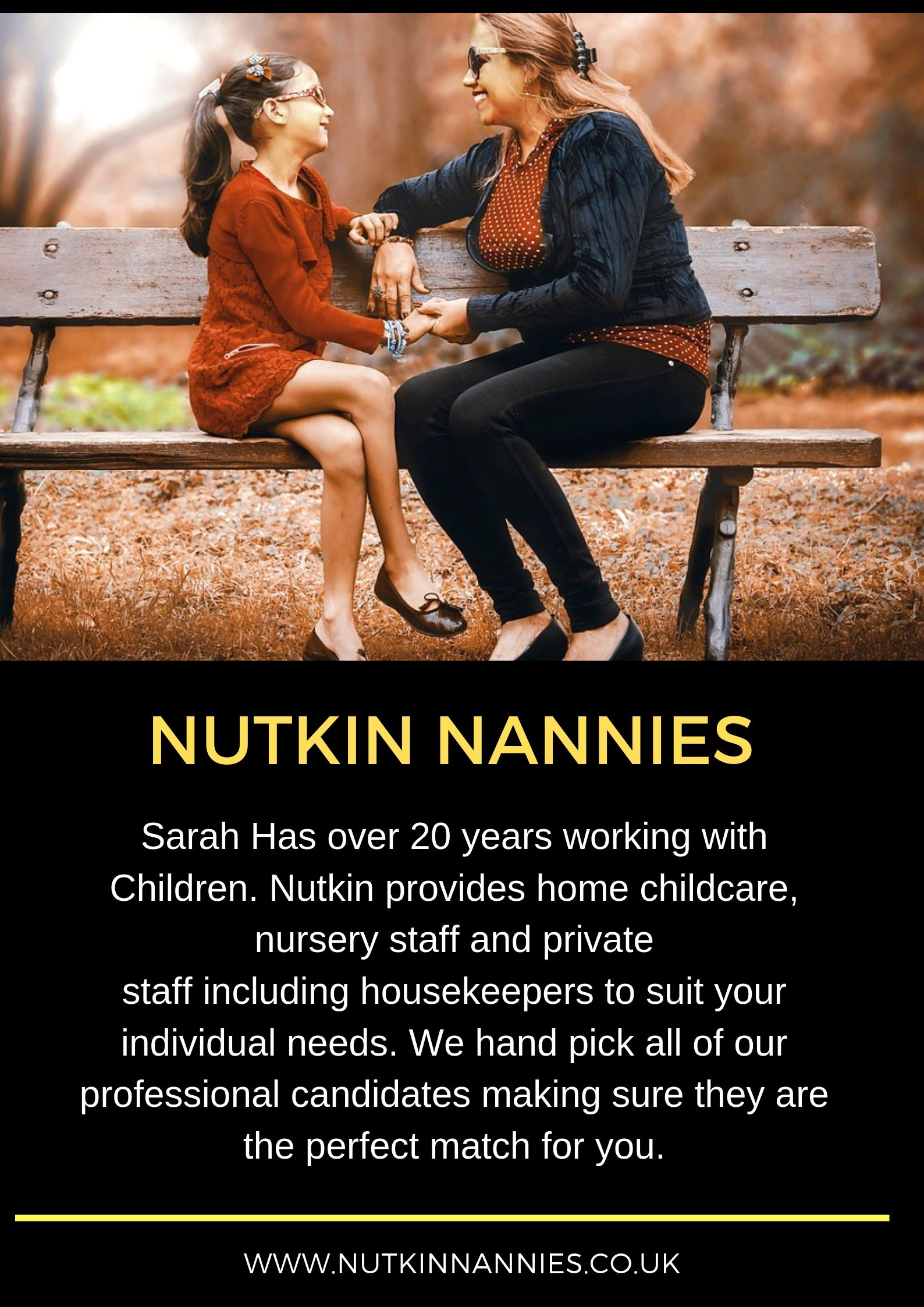 Nutkin Nannies Is A Fast Growing