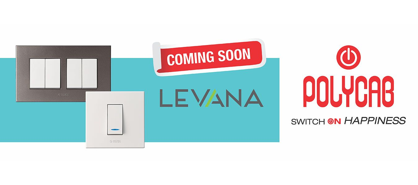 Polycab Levana Switches Coming Soon...!! http://buff.ly/1AZIMYG ...