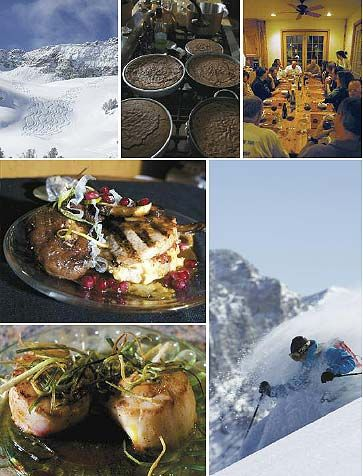 Mountain High – Exceptional skiing getaway offers delectable food.