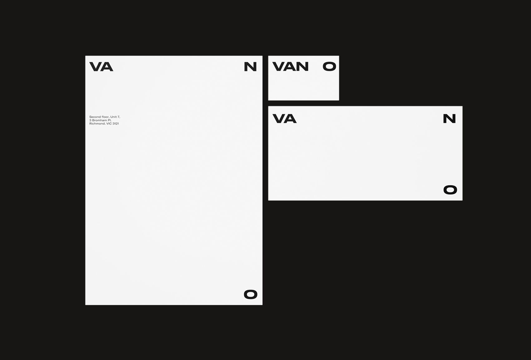 Picture of 4 designed by Luis Coderque for the project VAN O. Published on the Visual Journal in date 28 April 2017
